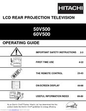 Hitachi 50V500  UltraVision Digital  50