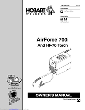 Hobart AIRFORCE HP-70 Manuals