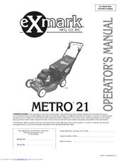 Exmark Metro 26 Manuals