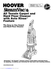 Hoover SteamVac F7452900 Manuals