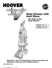 Hoover SteamVac Deep Cleaner with Auto Rinse SteamVacuum