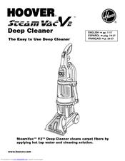 Hoover SteamVac V2 Manuals