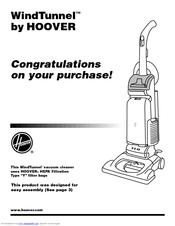 Hoover Windtunnel Ultra U6425-920 Manuals