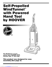 Hoover WindTunnel U6439-900 Manuals