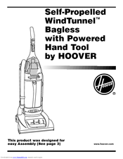 Hoover WindTunnel Self-Propelled U6616 Manuals