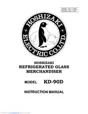 Hoshizaki KD-90D Manuals