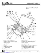 Hp Compaq 6910p Manuals
