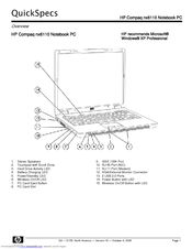 Hp Compaq nx6110 Manuals
