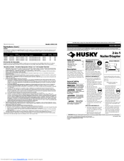 Husky HDN23200 Manuals