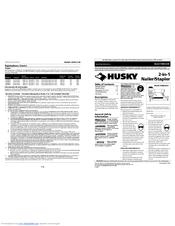 Husky HDN23200 Manuals