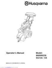 Husqvarna 968999239 Manuals
