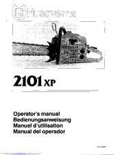 Husqvarna 2101xp Manuals