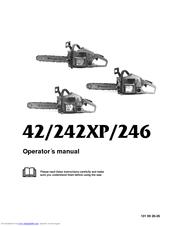 Husqvarna 242XP Manuals
