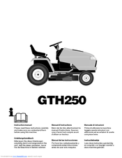 Husqvarna GTH250 Manuals