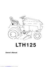 Husqvarna LTH125 Manuals
