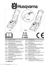 Husqvarna ROYAL 43S Manuals