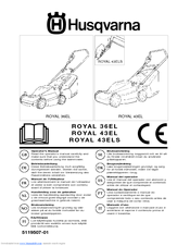 Husqvarna Royal 43EL Manuals