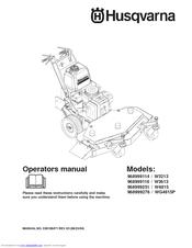 Husqvarna W4815 Manuals