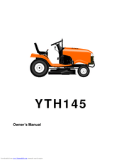 Husqvarna YTH145 Manuals