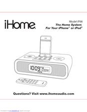 Ihome IP98 Manuals