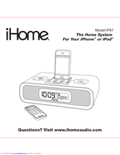 Ihome IP97 Manuals