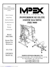 Impex Powerhouse Elite PHE 9000 Manuals