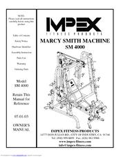 Impex MARCY SM 4000 Manuals