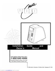 Audiovox AVT-597 Manuals