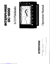 Interphase DC-1000 Manuals