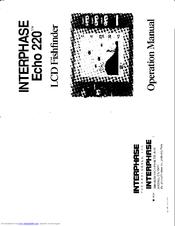 Interphase Echo 220 Manuals