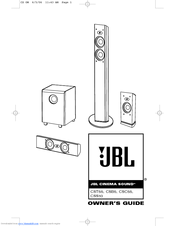 Jbl Cinema Sound CSB5 Manuals