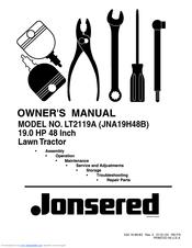 Jonsered LT2119A Manuals
