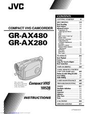 Jvc GR-AX280EK Manuals