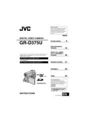JVC GR-D375U DRIVER DOWNLOAD