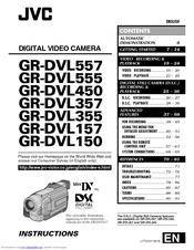 Jvc GR-DVL510EA Manuals