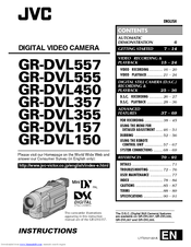 Jvc GR-DVL310U Manuals