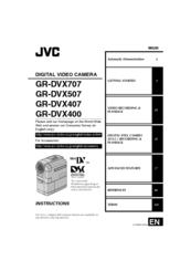 Jvc GR-DVX400 Manuals
