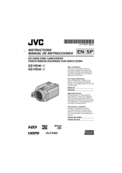Jvc GZ-HD30U Manuals