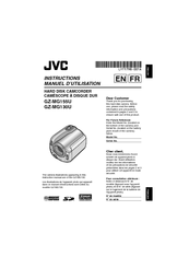 Jvc GZ-MG130U Manuals