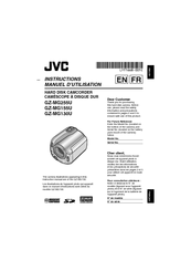 Jvc Everio GZ-MG255U Manuals