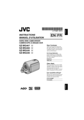 Jvc Everio GZ-MG335 Manuals