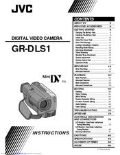 Jvc GR-DLS1U Manuals