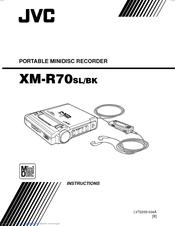 Jvc XM-R70 Manuals