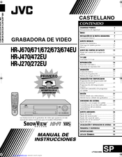 Jvc HR-J270EU Manuals