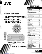 Jvc HR-J270EU Manuals