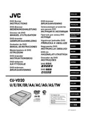 Jvc CU-VD20US Manuals
