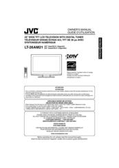 Jvc LT-26AM21 Manuals