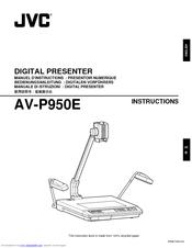 Jvc AV-P950E Manuals