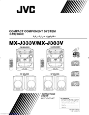 Jvc SP-MXJ333US Manuals