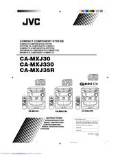 Jvc CA-MXJ30 Manuals